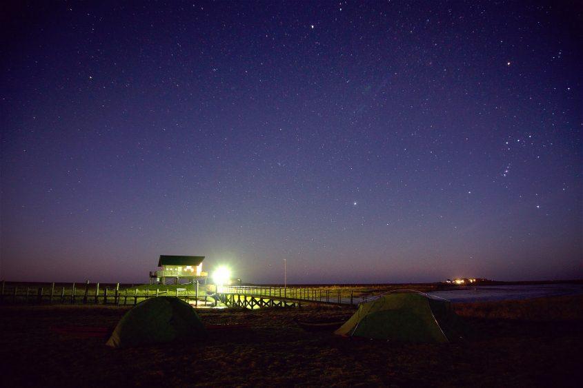 Hooge unter Sternen